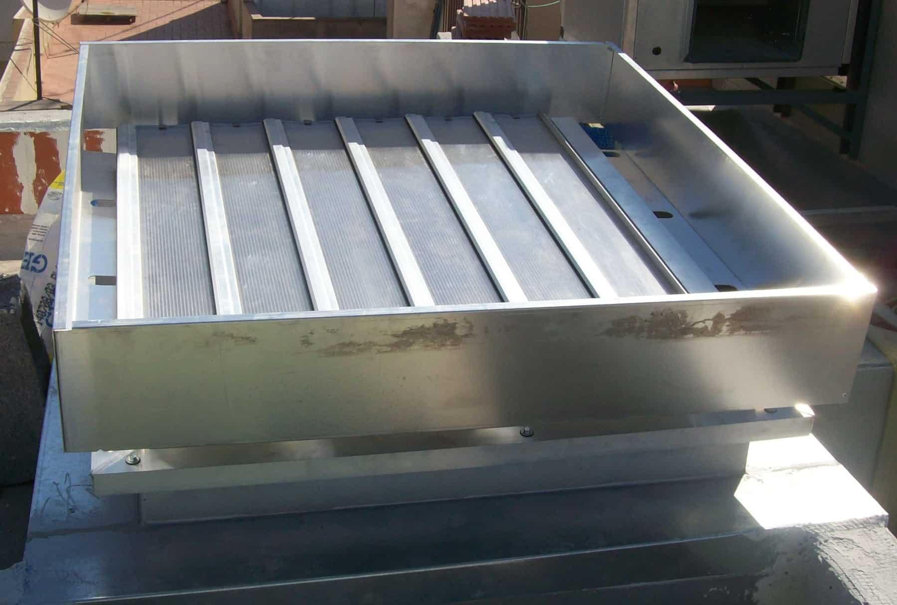 Exutorios de lamas o rejillas sistemas no adecuados para las cubiertas blog de prefire - Rejillas de ventilacion para banos ...