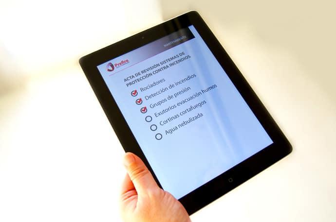Mantenimiento iPad