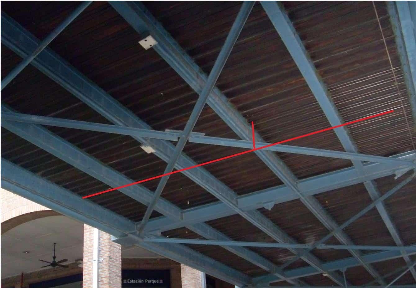 La estructura del edificio el determinante del dise o de - Tipos de vigas metalicas ...