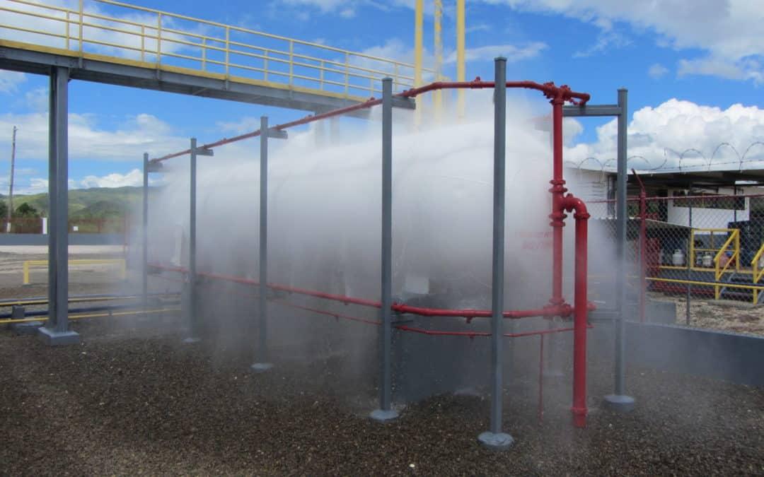 Tubería de acero galvanizada en instalaciones contra incendios por agua o mezcla agua+espumógeno