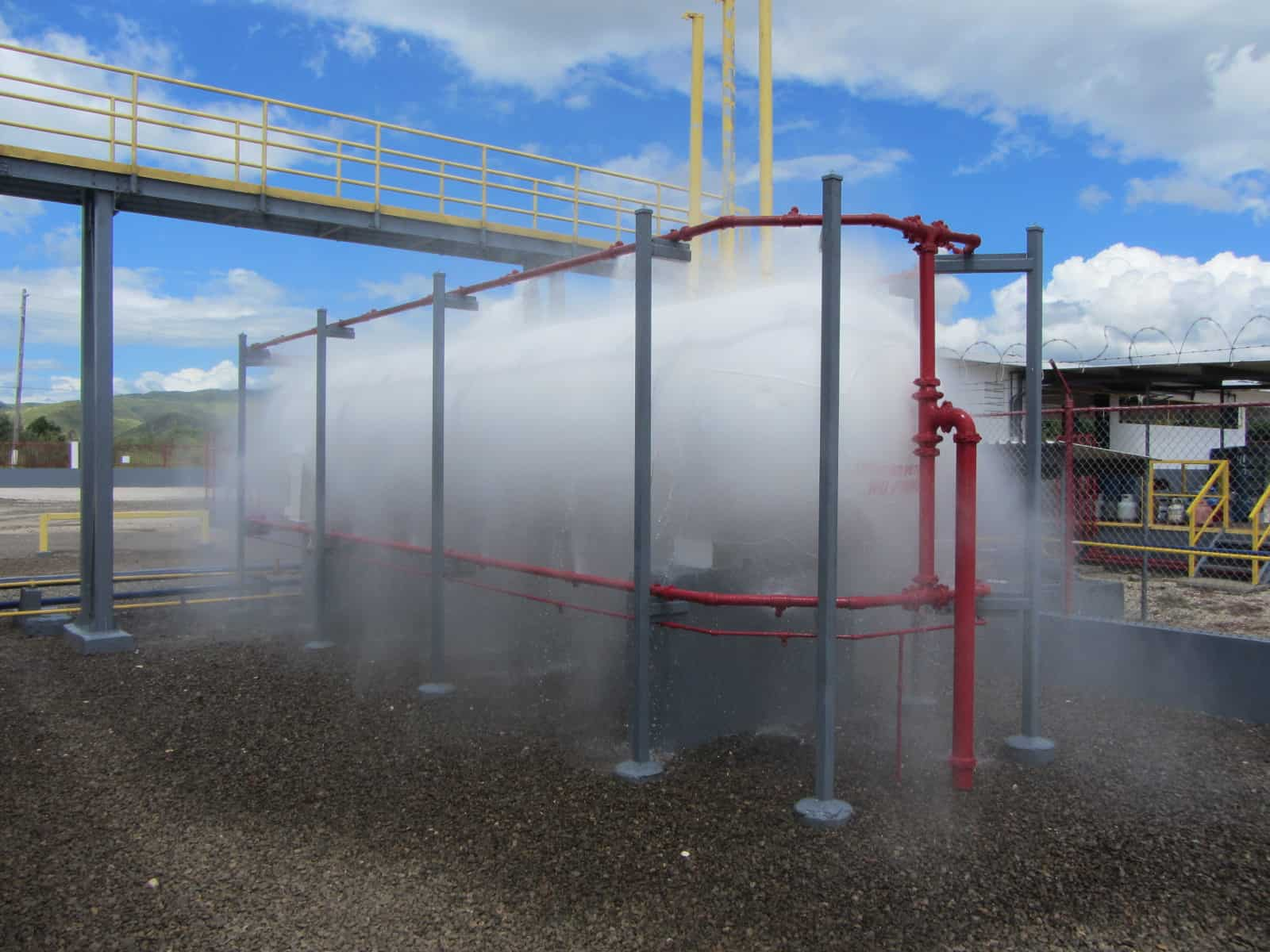 Tuber a de acero galvanizada en instalaciones contra for Diseno de piletas de hormigon