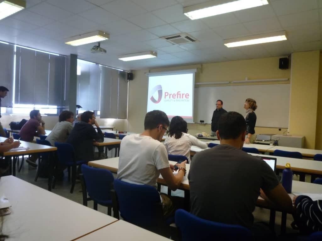 De nuevo en la UPC. Master class en colaboración con el CERTEC