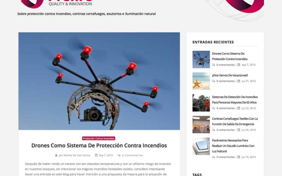 Nueva imagen del blog.prefire.es