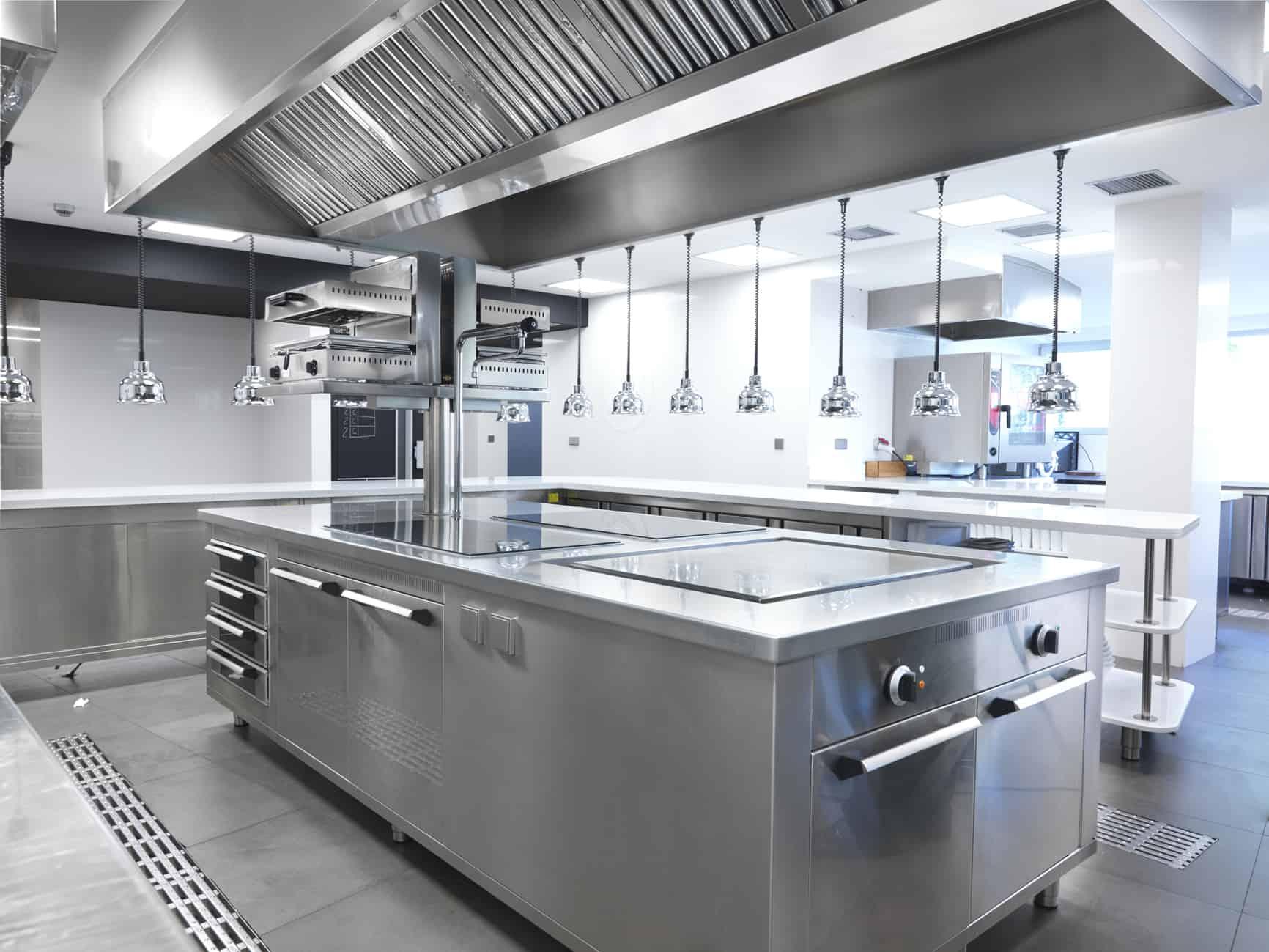 Extinci n autom tica de incendios en cocinas blog de prefire for Mobiliario cocina restaurante