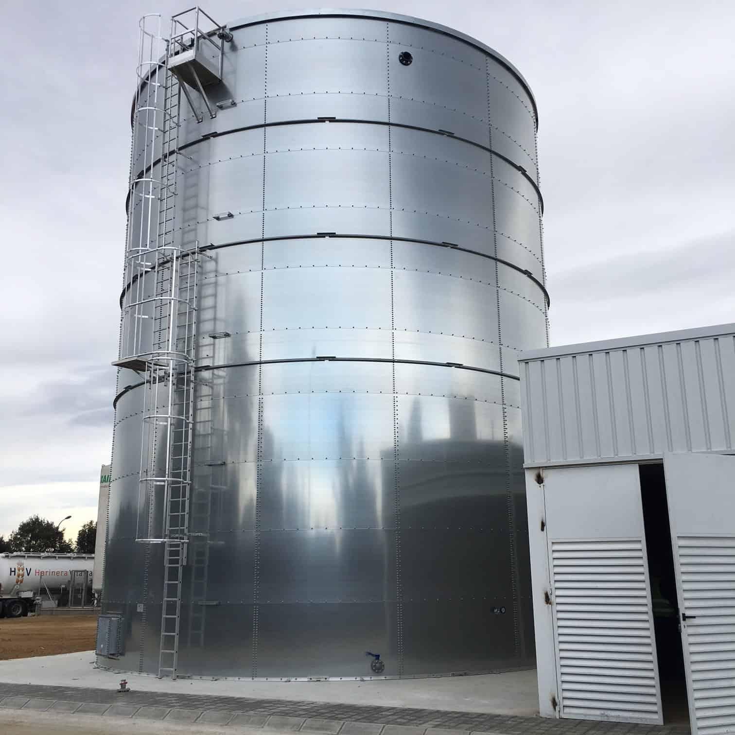 Depositos de agua contra incendios normativa