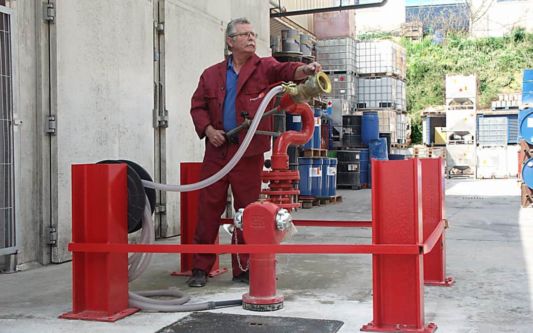 La eficacia de un sistema de protección contra incendios