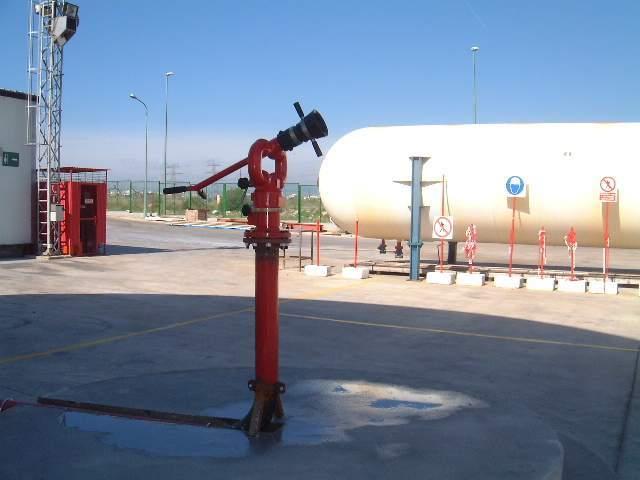 Hidrantes. Caudal y reserva necesaria para medios manuales