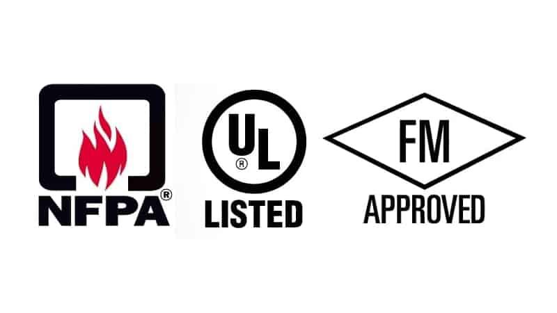 Certificación UL FM